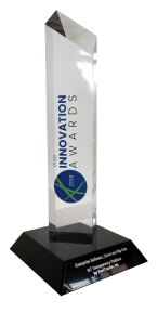 Utah Innovation Awards trophy